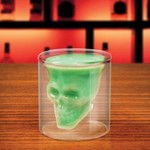 Crystal Skull Shaped Glass Cup for $4.99 + Free Shipping