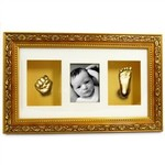 DELUXE 3D Baby Hands & Feet Casting Kit with Photo Frame $19.95 (+$9.95 Shipping)