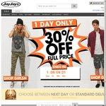30% off Full Priced Items JayJays