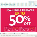 Pumpkin Patch - Up to an extra 20% off eSale items plus free delivery