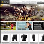 COMPRESSION SKINS PureSport: 20% Discount Sale for 48 Hours FREE SHIPPING with TWO or MORE ITEMS
