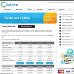 Web Hosting from $1.65 USD/Month USA [Cloud Shards] 50% OFF