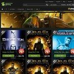 [Steam / PC] Deus Ex, Sonic, Coh Franchise Sale, Sonic All Stars Racing Transformed - $4!