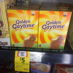 4 Pack Golden Gaytime for $5 at Coles