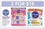 """Curash Wipes 3x80 2-for-$15 (=$2.50/80pk), 45% off Quinny Zapp Xtra Stroller $179.99 @ Toys""""R""""Us"""