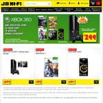 XBOX 360 Bundle from JB Hi-Fi for $299 - 500GB Console + COD Ghosts+Black Ops, Borderlands 2+BF4