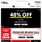Glue Store - Take a Further 40% off Sale - 4 Days Only