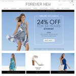 Forever New 24% off Site Wide Online Exclusive