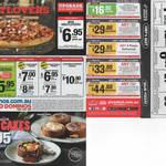 16 Domino's and Pizza Hut Coupons - Ex: 3x Pizzas + 2x Garlic Bread + 2x Drinks for $33 Delivered