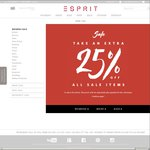 EXTRA 25% OFF The Esprit Summer Sale & NEW STYLES ADDED