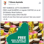 Free Small Slurpee or Regular Coffee from 7-Eleven (Subiaco, WA Store Only) (Friday 6/2 Only)