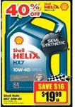 Shell Helix HX7 10W-40 - $19.99 @ Repco