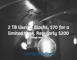 Newsgroup Direct - 2TB Usenet Blocks for $70