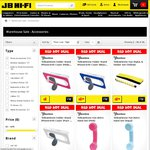 iPhone4/4S Cover Blue or White $1.10, Pink $1.00, Retro Mob Handset $2.95 Free Delivery @ JB Hi-Fi