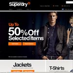 Superdry Selected Jackets & Shoes 50% off