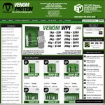 Venom Protein Price Drop - WPI 1kg $36, 2kg $69, 3kg $97, 4kg $124