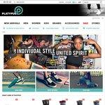 20% off Storewide @ Platypus Sneakers, Westfield and Online This Weekend