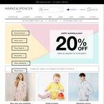 20% off New Season Items at Marks & Spencer AU Site + 7% Cashback Via Shopandmint