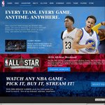 NBA Premium League Pass 65% off (~$35 using VPN)