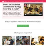 5% Discount on Nagomi Visits in Japan - 3325 Yen (Usual Price 3,500 Yen)