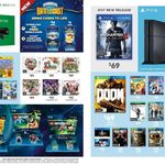 PS4 Uncharted 4 $69, PS4/XB1 Doom $69, PS4/XB1 Overwatch Origins Ed $78, COD BO 3 $49, Lego Dimensions Fun Packs $20 @ Target