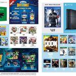 PS4 Uncharted 4 $69, PS4/XB1 Doom $69, PS4/XB1 Overwatch Origins Ed $78, COD BO 3 $49, Lego Dimensions Fun Packs $20 @ Target