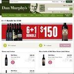 Wynns & Wolf Blass 6 + 1 Deal - Buy 6 for $150 & Get a $50 Wolf Blass Brown Label Free @ Dan Murphy's