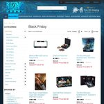 Black Friday Blizzard Gear up to 70% off Some Items