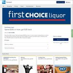AmEx Offers - First Choice Liquor - Spend $150 Get $30 Back