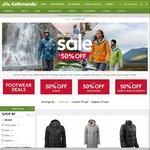 Kathmandu Autumn Sale up to 50% off