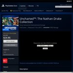 PS4 Uncharted Collection $20.15 @ PSN Store (PS+ Members)