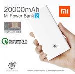 Xiaomi 20000mAh Power Bank 2 (Bi-Directional QC 3.0) + any $3.31 item - $40.00 Delivered (AU Stock) @ Lanplus_australia eBay