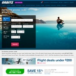 ORBITZ 15% off Hotels (Book Hotel by July 9, Travel by December 31)
