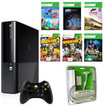 Xbox 360 E 500GB + Play & Charge Kit + 6 Games $170.10 Delivered @ The Gamesmen Ebay