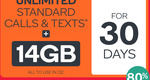 Kogan Mobile Prepaid Voucher Code: Extra Large (30 Days | 14GB) - $9.90 [New Customers Only]