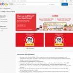 $150 Coles Online Grocery eVoucher - $120, $250 eVoucher - $200 @ Coles eBay