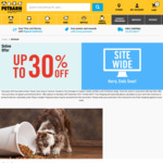 Petbarn up to 30% off Plus 25%
