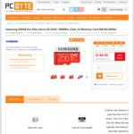 Samsung 256GB Evo Plus Micro SD SDXC 100MB/s (AU Warranty) $135.95 (Pickup Auburn NSW) or  $145.85 Delivered @ PC Byte