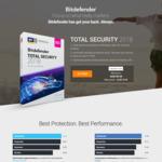 Bitdefender Total Security 2018 for 5 Devices (1 Year Duration) $19.99 (Was $109.99) @ BitDefender