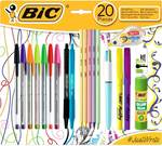 62.5% off Bic Stationery Set 20pce $6, 20% off Selected Gift Cards - GT Restaurant, Movie Card, Spa & Wellness @ Woolworths