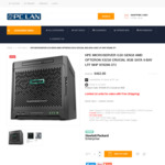 HPE Microserver Gen10 - $462 Shipped @ PC LAN