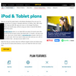 Optus Tablet/Mobile Broadband 200GB Data $70/Month for 24 Months with Data Pool/Video and Music Streaming