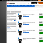 $3.60 - $4 (Once Was $20- $25) Mens' & Womens' T-Shirts Sale, Sizes S, M, L, XL & XXL @ EB Games