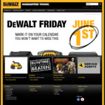 Dewalt Friday Kit - Brushless Hammer Drill 54V 6.0ah Kit - $199