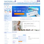 15% Contact Lenses @ Quicklens (New Customers)