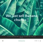 [SA/VIC/NSW] 20% off BULK Frozen Banana Chunks Delivered $5 - $6 Per kg @ The Banana Box