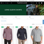 Men's Cotton Shirt Starts $7.19 [1 Style, Limited Sizes], Others from $11.99+ & More C&C (Or + Delivery) @ Tarocash