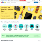 eBay 10% off Sitewide (Min Spend $50)