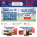 Free Shipping This Week ($40 Min Spend) @ First Choice Liquor