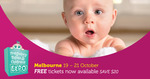 [Free Ticket] Melbourne Pregnancy Babies & Children's Expo 19-21 OCT  2018